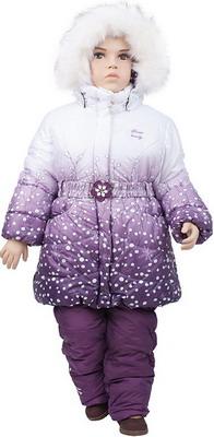 Комплект одежды Русланд КД-14-1 Сакура сиреневый Рт. 92 комплект одежды русланд принт зигзаг рт 110 красный