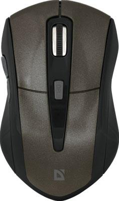 лучшая цена Мышь Defender Accura MM-965 коричневый (52968)
