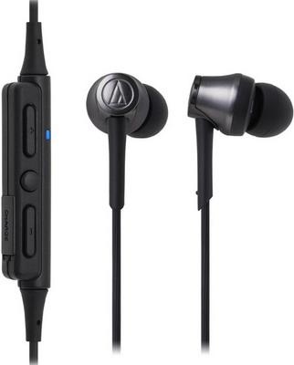 Вставные наушники Audio-Technica ATH-CKR 55 BTBK черные наушники audio technica ath sport2 rd вставные