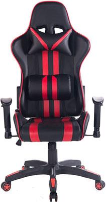Кресло Tetchair iCar кож/зам черный/красный кресло tetchair icar кож зам черный оранжевый
