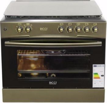 Газовая плита Ricci RGC 9040 BZ цена и фото