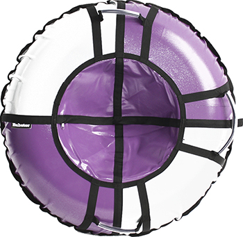 Тюбинг Hubster Sport Pro фиолетовый-серый (90см) во4199-4 тюбинг hubster sport plus красный синий 90см во4188 3