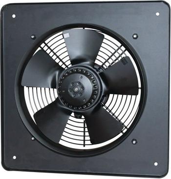 Вытяжной вентилятор ERA Storm YWF4E 450 vertex crossfit черный диаметр 450 мм
