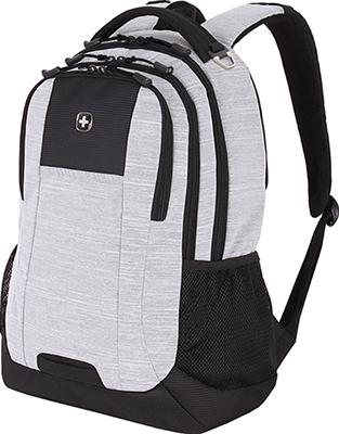 Рюкзак Wenger 18'' светло-серый ткань Grey Heather/М2 добби 34 3x17 8x47 см 26 л 5505402419 рюкзак городской wenger 26 л серый серебристый 34х16х48см