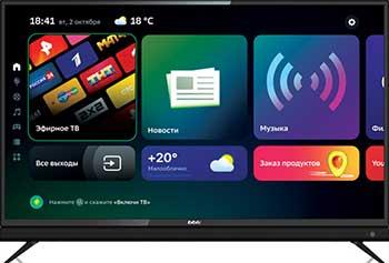 Фото - LED телевизор BBK 43LEX-8361/UTS2C черный led телевизор bbk 43lex 8361 uts2c черный