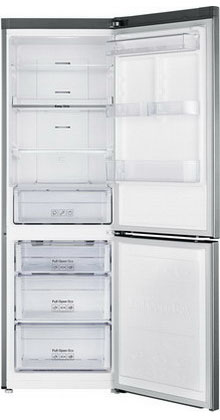Двухкамерный холодильник Samsung RB 33 J 3420 SS