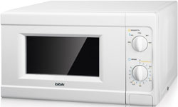 Микроволновая печь - СВЧ BBK 20 MWS-705 M/W белый supra микроволновая печь mws 2103ms 700 вт 21л