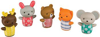 Набор игрушек для купания Happy Baby Little Friends