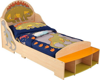 Детская кроватка KidKraft Динозавр 86938_KE
