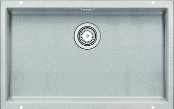 Кухонная мойка Blanco 523445 SUBLINE 700-U SILGRANIT жемчужный с отв.арм. InFino кухонная мойка blanco subline 700 u infino жемчужный 523445