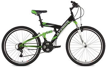 Велосипед Stinger 26 SFV.BANZAI.20 BK7 26'' Banzai 20'' черный цена