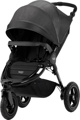 Коляска Britax Roemer B-Motion 3 plus Cosmos Black 2000027967