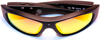 Экшн камера-очки X-TRY XTG 205 HD ВТ МР3 PHOENIX POLARIZED