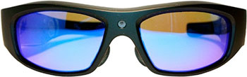 Экшн камера-очки X-TRY XTG 203 HD ВТ МР3 INDIGO POLARIZED