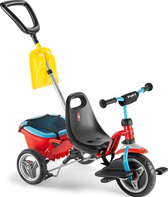Велосипед Puky CAT 1SP 2441 трехколесный red/blue красный/голубой цены онлайн