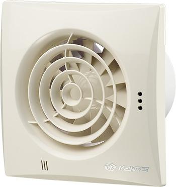 Вытяжной вентилятор Vents 150 Quiet слоновая кость 1F 00000009001