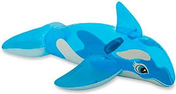 Надувная игрушка-наездник Intex 163х76см ''Касатка'' от 3 лет 58523 надувная игрушка наездник intex краб 213х137см 57528