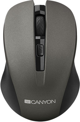 Мышь Canyon CNE-CMSW1G Серый canyon cne cpb130 13000 мач серый