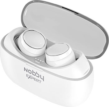 Вставные наушники Nobby Expert T-110 NBE-BH-50-01 белый