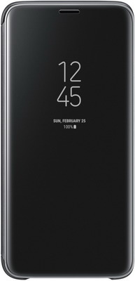 Чехол (флип-кейс) Samsung S9 (G 960) Clear View Standing black EF-ZG 960 CBEGRU чехол флип кейс samsung s view standing cover для samsung galaxy a7 2017 золотистый [ef ca720pfegru]