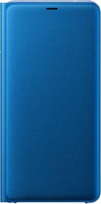 Чехол (флип-кейс) Samsung A7 (A 750) WalletCover blue EF-WA 750 PLEGRU чехол флип кейс deppa air case для samsung galaxy a7 2016 белый [83234]