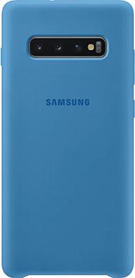 Чехол (клип-кейс) Samsung S 10+ (G 975) SiliconeCover blue EF-PG 975 TLEGRU чехол клип кейс samsung s 10 g 975 siliconecover pink ef pg 975 thegru