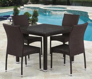 Комплект мебели Афина T 257 A/Y 380 A-W 53 Brown 4Pcs