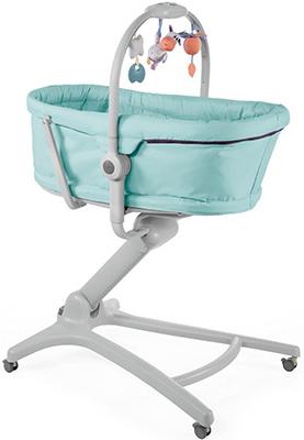 Кроватка-стульчик Chicco Baby Hug 4-в-1 (Aquarelle)