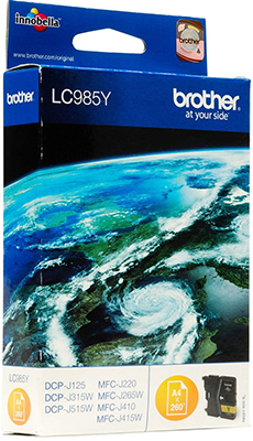цены на Картридж Brother LC 985 Y желтый в интернет-магазинах