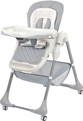 Стульчик для кормления Everflo Gently Grey (Q 55) ПП100004363 стул everflo gently provence q55