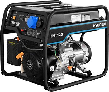 Электрический генератор и электростанция Hyundai HHY 7020F