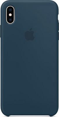 цена Чехол (клип-кейс) Apple Silicone Case для iPhone XS Max цвет (Pacific Green) тихий океан MUJQ2ZM/A онлайн в 2017 году