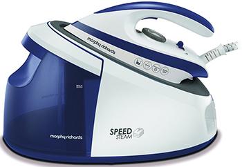 Утюг с парогенератором Morphy Richards Speed Purple 333202 цена