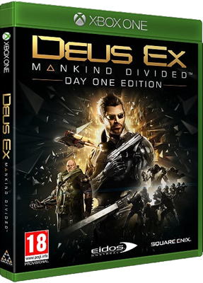 Игра для приставки Microsoft Xbox One DEUS EX: MANKIND DIVIDED. Day one edition. backpack xbox one