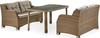 Комплект мебели Афина T51B/S51B-W65 Light Brown цена 2017