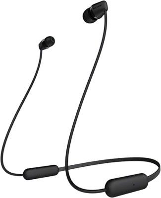 Вставные наушники Sony WIC-200 черные