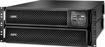 Источник бесперебойного питания APC Smart-UPS SRT SRT2200RMXLI 1980Вт 2200ВА черный ибп apc by schneider electric smart ups srt 2200 srt2200rmxli