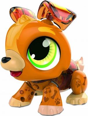 цена Игрушка 1 Toy РобоЛайф Щенок интерактивный (модель для сборки) со звук. эффект. 2*АА бат (не входят) 30х28х5 5 Т16 онлайн в 2017 году