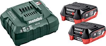 Комплект аккумулятор и зарядное устройство Metabo Basic-Set 12V 685301000