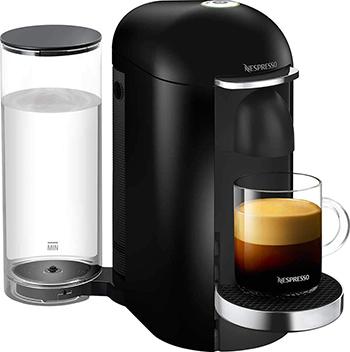 Кофемашина капсульная Nespresso, Vertuo GCB2 EU Black, Украина  - купить со скидкой