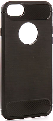 Чехол (клип-кейс) Eva для Apple IPhone 6/6s - Черный/Карбон (IP8A012B-6) цена и фото