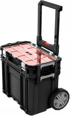 Набор из двух ящиков для инструментов на колёсах Keter Connect Organizer cart 17205661