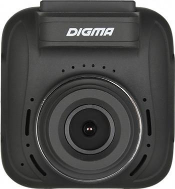 Автомобильный видеорегистратор Digma FreeDrive 610 GPS Speedcams черный цена и фото