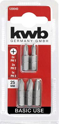 Бита Kwb BASIC PH 25мм 5шт 120040 сангвиритрин раствор 0 2% 50 мл