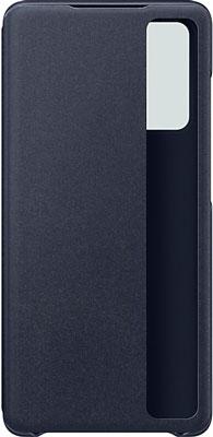 Чеxол (флип-кейс) Samsung Galaxy S20 FE Smart Clear View Cover темно-синий (EF-ZG780CNEG) чехол для samsung galaxy s20 fe clear standing cover transparent ef jg780ctegru