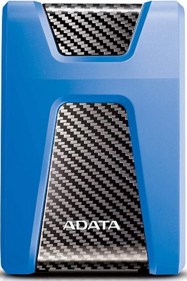 Фото - Внешний жесткий диск (HDD) A-DATA AHD650-2TU31-CBL BLUE USB3.1 2TB EXT. 2.5'' внешний жесткий диск hdd western digital wdbyvg0020bbl wesn blue usb3 2tb ext 2 5