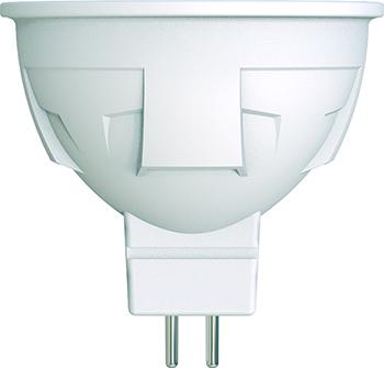 Лампа светодиодная Uniel LED-JCDR 6W/NW/GU5.3/FR/DIM PLP01WH диммируемая Форма «JCDR» матовая (4000K) 003989
