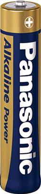 Батарейки Panasonic щелочные AAA Alkiline power promo pack в блистере 6шт (LR03REB/6B2F)
