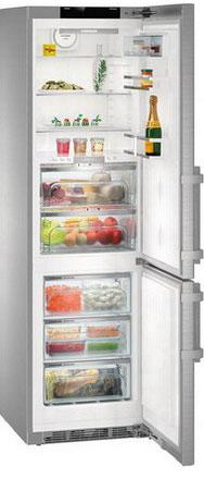 лучшая цена Двухкамерный холодильник Liebherr CBNPes 4858-20