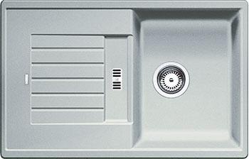 Кухонная мойка BLANCO ZIA 45 S SILGRANIT жемчужный blanco zia 45 s silgranit антрацит